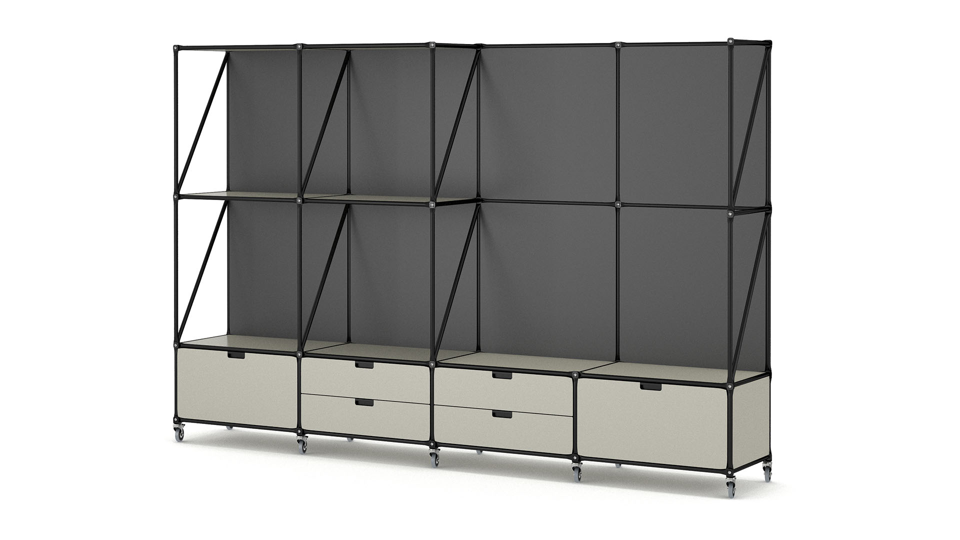 System 180: Our furniture assembly system - individual & functional