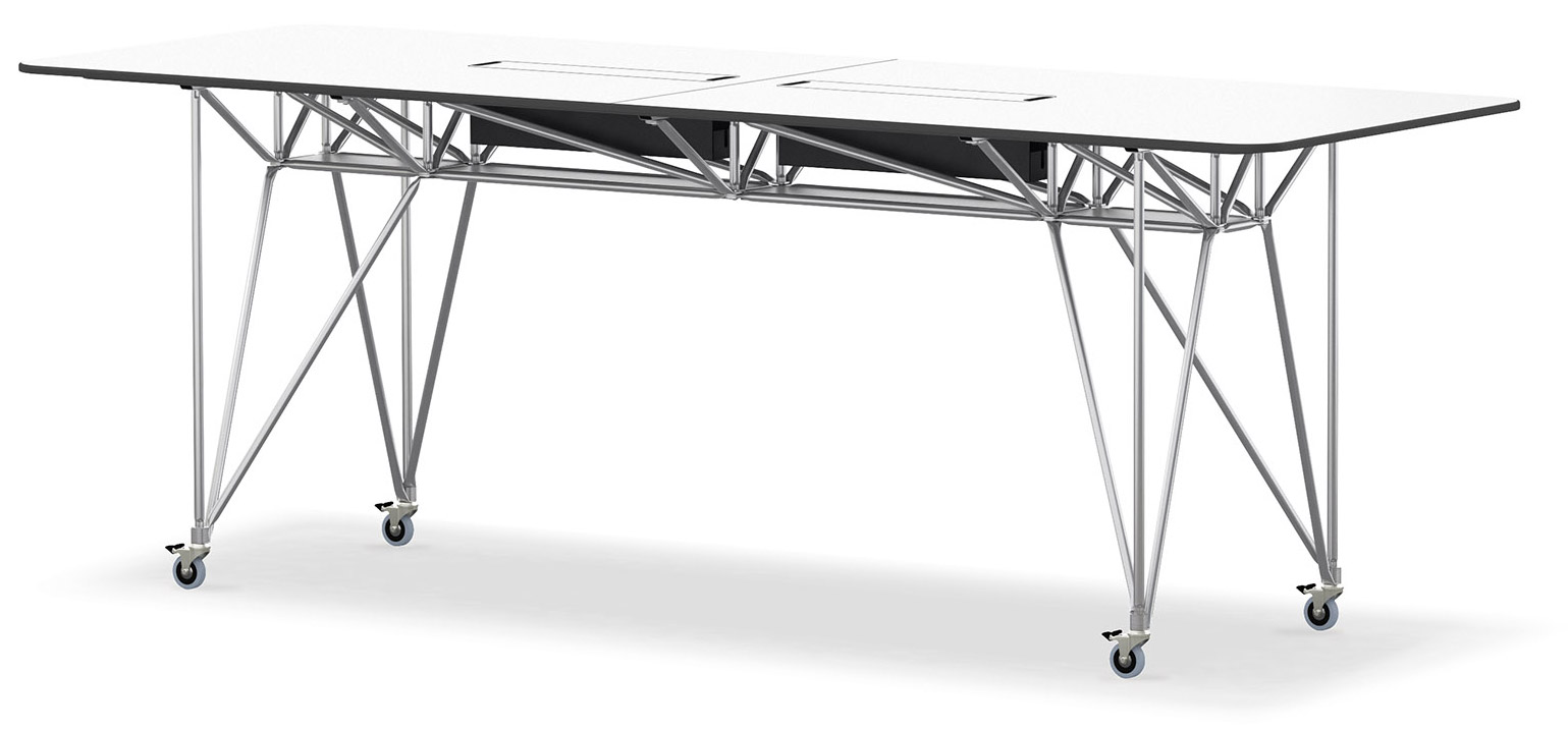 High Desks Individual High Tables On Casters By System 180