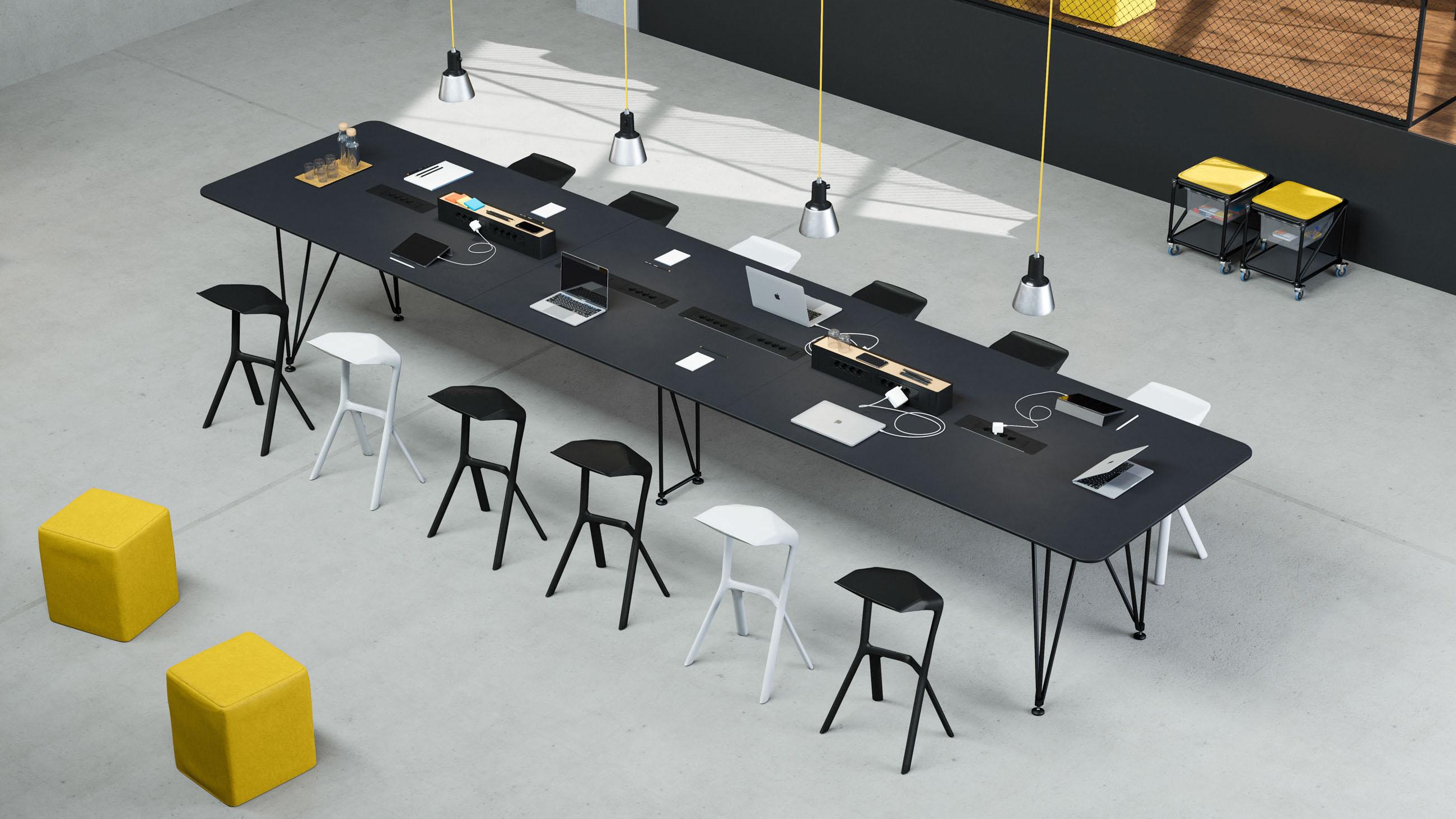 tischsystem k konferenz system 180 modulare einrichtung aus berlin